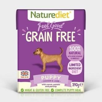 Naturediet Feel Good Grain Free Puppy Food x 18