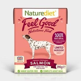 Naturediet Feel Good Salmon Grain Free  Dog Food x 18