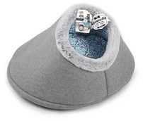 All For Paws Vintage Reversible Cat Bed Grey