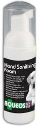 Aqueos Anti Microbial Alcohol Free Hand Sanitiser 50ml