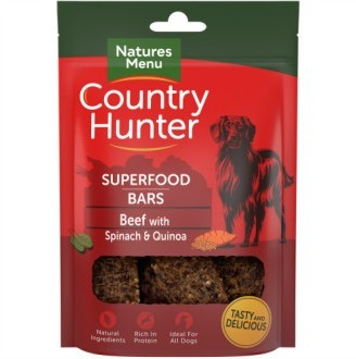 Country Hunter Superfood Bars Beef with Spinach & Quinoa
