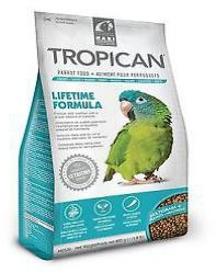 Living World Tropican Lifetime Parrot Food 820g