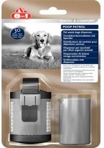 8 In 1 Poop Patrol Dispenser and 2 Refills