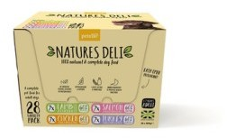 Natures Deli Dog Food 400g x 28 Assorted Packs