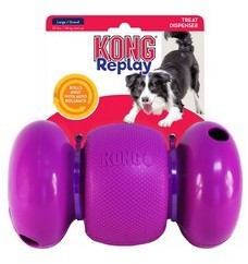 KONG RePlay Small Treat Dispensing Dog Toy