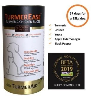 TurmerEase Chicken Slices Pet Supplement 300g