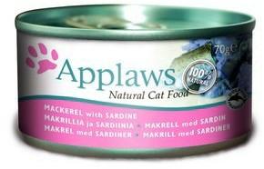 Applaws Cat Food Mackerel With Sardine 70g x 24