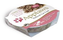 Applaws Cat Food Succulent Tuna With Crab Pot 60g x 10