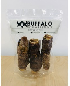 Sniffers Buffalo Wraps Dog Treats 3 pack