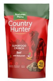 Natures Menu Country Hunter Dog Superfood Crunch Beef 1.2kg