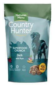Natures Menu Country Hunter Dog Superfood Crunch Duck 1.2kg