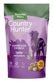 Natures Menu Country Hunter Dog Superfood Crunch Turkey 1.2kg