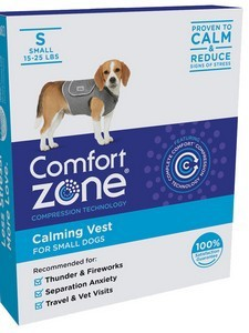 Comfort Zone Calming Vest Small
