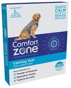 Comfort Zone Calming Vest Large