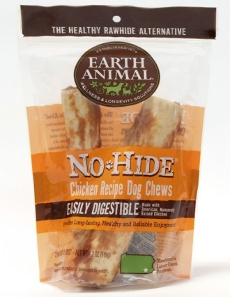 Earth Animal No Hide Chicken Medium Dog Chews 2 pack