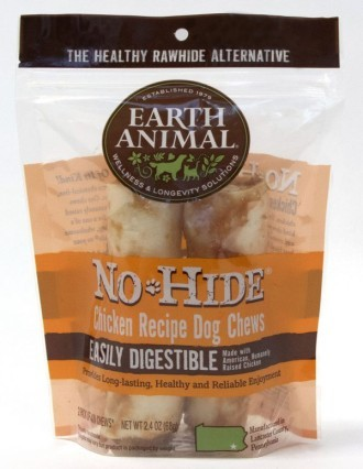 Earth Animal No Hide Chicken Small Dog Chews 2 pack