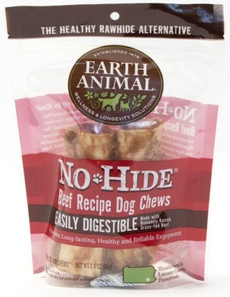 Earth Animal No Hide Beef Small Dog Chews 2 pack
