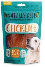 Natures Deli Chicken Jerky Dog Treats100g x 10