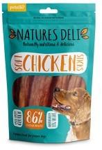 Natures Deli Soft Chicken Sticks Dog Treats 100g x 10