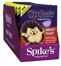 Spikes Meaty Feast Hedgehog Food 140g pack of 8