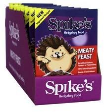 Spikes Meaty Feast Hedgehog Food 140g pack of 8