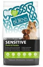 Burns Sensitive Pork and Potato Dog Food 6Kg