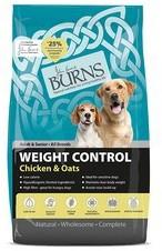 Burns Weight Control (High Oats) Dog Food 12Kg