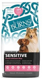 Burns Sensitive Duck and Brown Rice Dog Food 6Kg