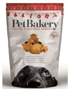 Pet Bakery Festive Xmas Dinner Dog Treats