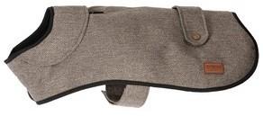 Ancol Heritage Brown Herringbone Dog Coat 50cm