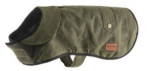 Ancol Heritage Green Wax Dog Coat 35cm
