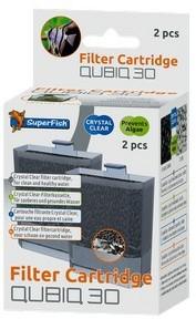 SuperFish QubiQ 30 Cartridge pack of 2