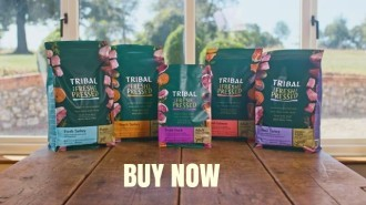Shop now for  tribal dog foods