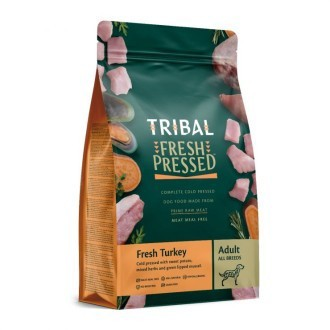 Tribal Grain Free Cold Pressed Adult Dog Food Turkey