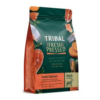 Tribal Grain Free Cold Pressed Adult Dog Food Salmon