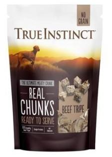 True Instinct Freeze Dried Real Beef Tripe Chunks 200g