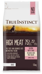 True Instinct Salmon and Tuna Cat Food 1.5kg