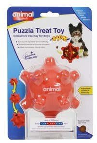 Animal Instincts Puzzla Treat Atom Pod Dog Toy