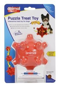 Animal Instincts Puzzla Treat Atom Pod Dog Toy