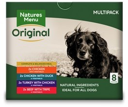 Natures Menu Assorted Dog Food Pouches