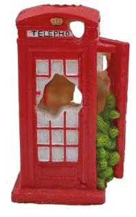 Superfish Deco Telephone Box Fish Tank Ornament