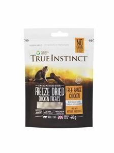 True Instinct Freeze Dried Chicken Cat Treats 40g