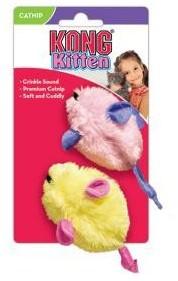 KONG Catnip Mice cat toys 2 Pack