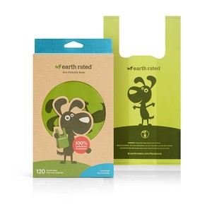 Earth Rated Poop Bags Unscented - 120 Bags