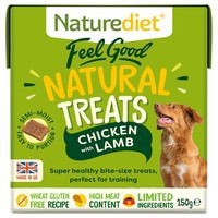 Naturediet Dog Treats Chicken & Lamb