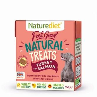 Naturediet  Dog Treats Turkey & Salmon