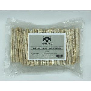 Sniffers Buffalo Peanut Butter Twists 1kg