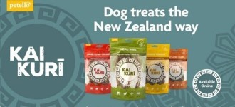 Kai Kuri dog treat range