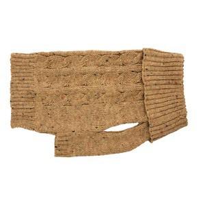 Charlton Cable Knit Caramel sweater Medium