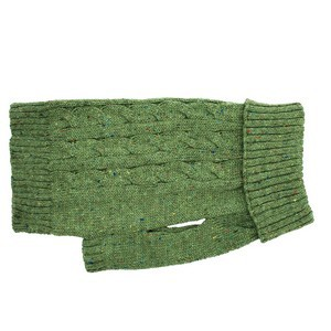 Charlton Cable Knit Green sweater Small
